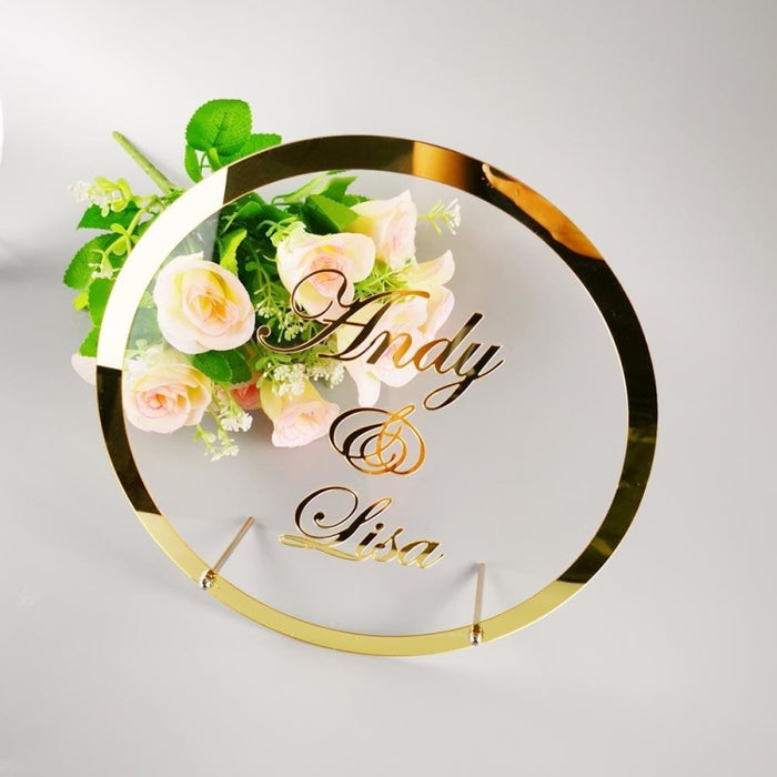 Personalized Bride Name Mirror GuestBooks | Bridelily - guestbooks