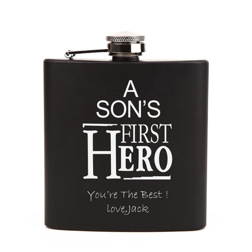 Personalized Favors Letter Hero Steel Flasks | Bridelily - steel flasks