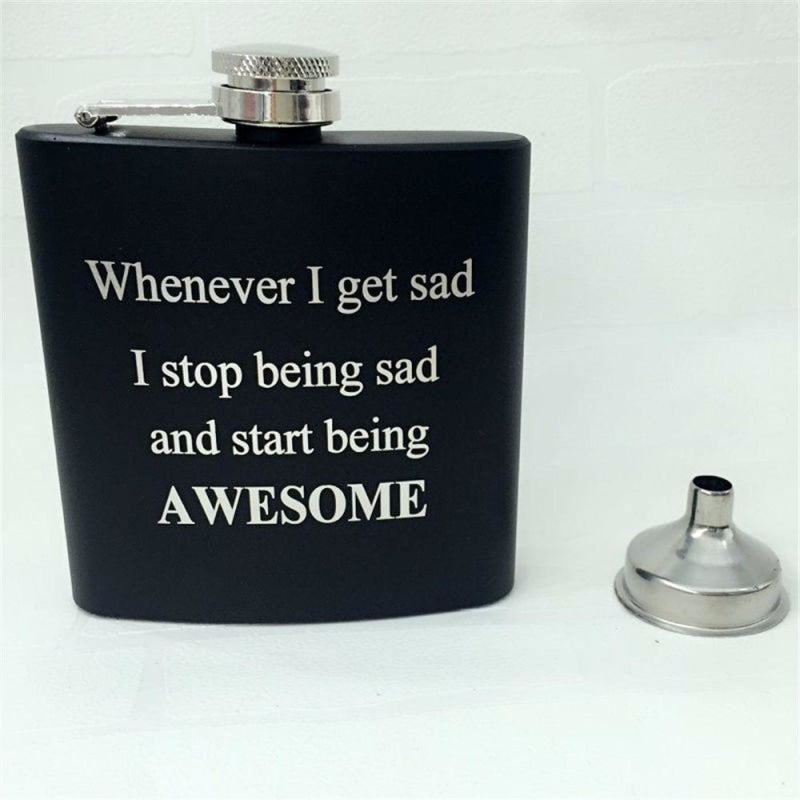 Personalized Favors Sentence Steel Flasks | Bridelily - steel flasks