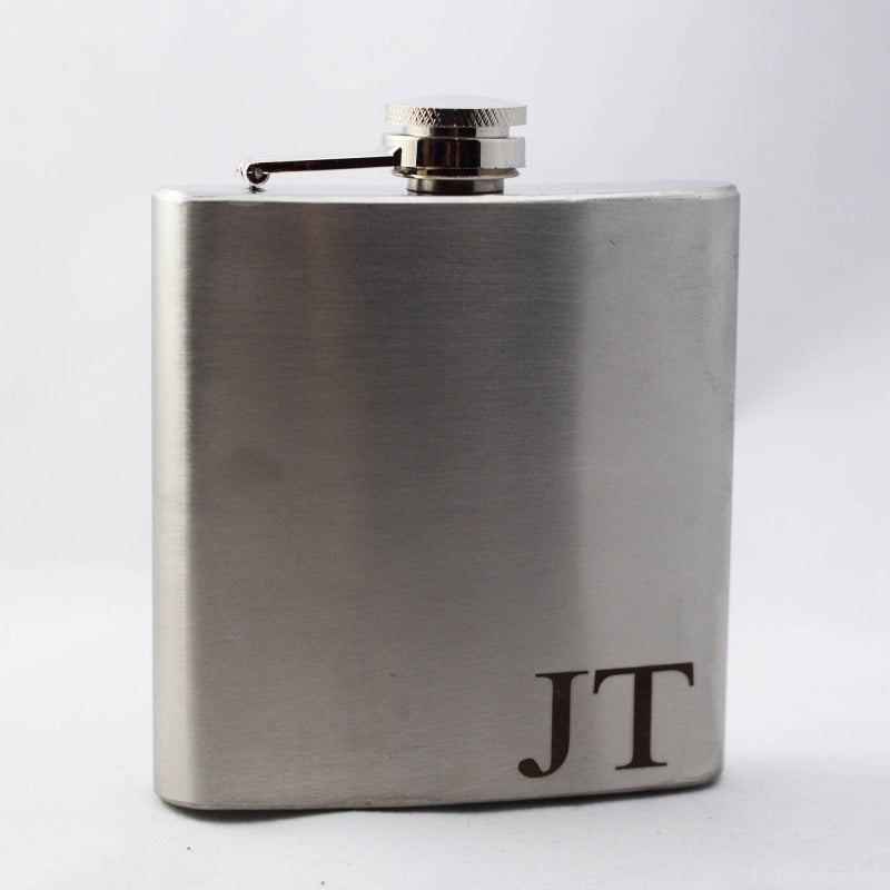 Personalized Favors Stainless Steel Flask Sets | Bridelily - steel flasks