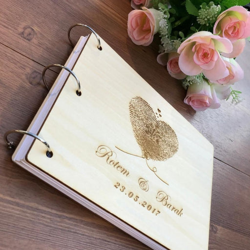 Personalized Gold Calligraphy Guestbooks | Bridelily - guestbooks