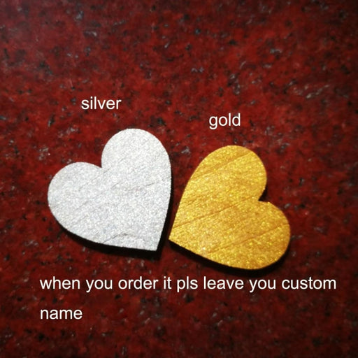 Personalized Heart Wedding Cake Toppers | Bridelily - cake toppers