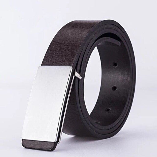 Personalized Logo Leather Groomsmens Belts | Bridelily - 5 / 115cm - groomsmen gifts