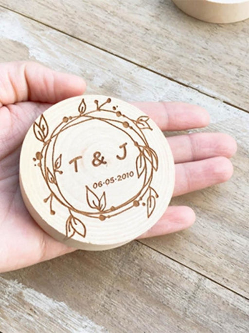 Personalized Logo Wood Bottle Opener | Bridelily - style 1 - bride gifts