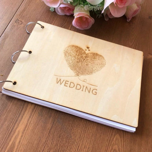 Personalized Names Wedding Guestbooks | Bridelily - guestbooks