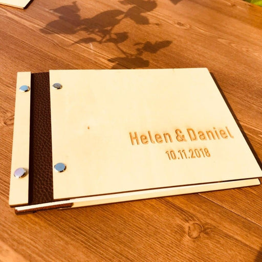 Personalized Rustic Wedding Guestbooks | Bridelily - guestbooks