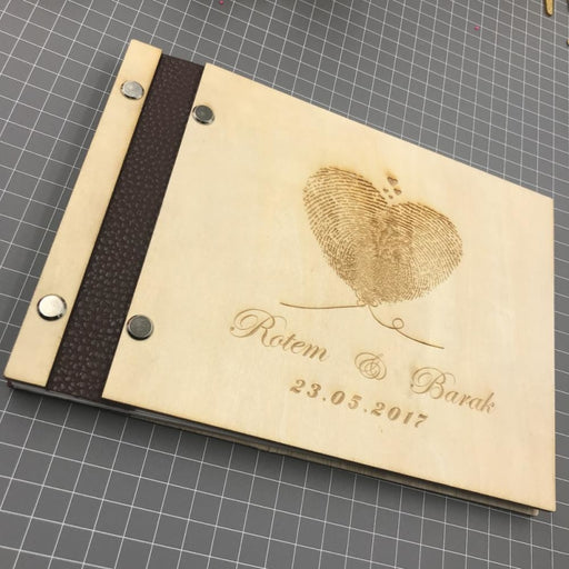 Personalized Wedding Album Guestbooks | Bridelily - guestbooks