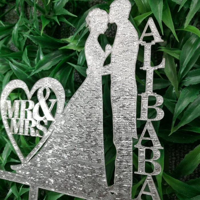 Personalized Wedding Decoration Cake Toppers | Bridelily - cake toppers