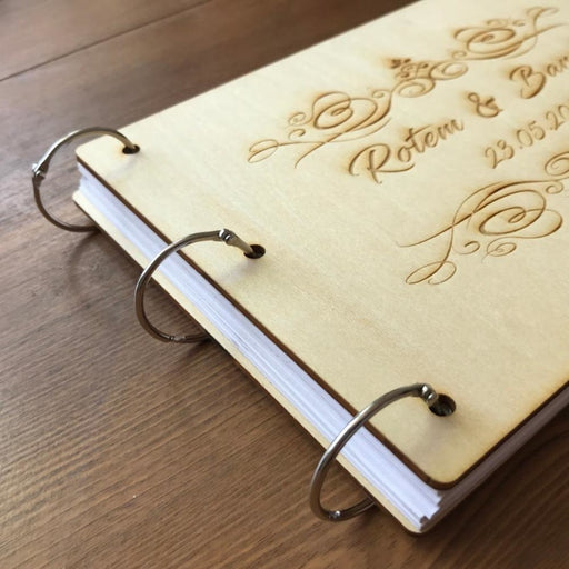 Personalized Wedding Rustic Wooden Guestbooks | Bridelily - guestbooks