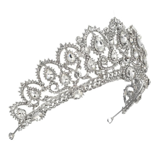 Princess Crown Crystal Womens Tiaras | Bridelily - tiaras