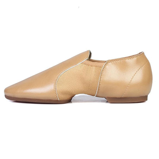 PU Canva Elastic band Soft Sole Jazz Dance Shoes | Bridelily - jazz dance shoes