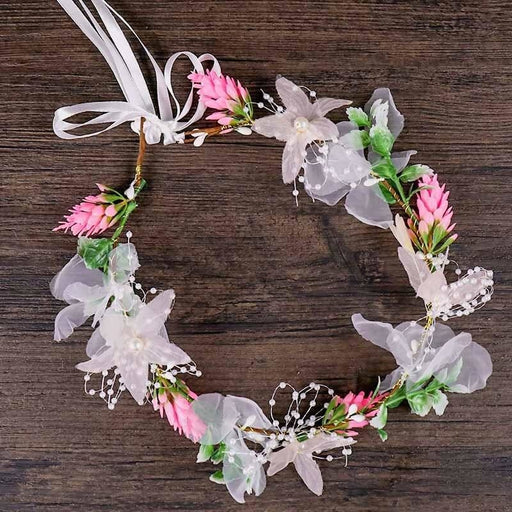 Romantic Adjustable Flowers Floral Headpieces | Bridelily - floral headpieces