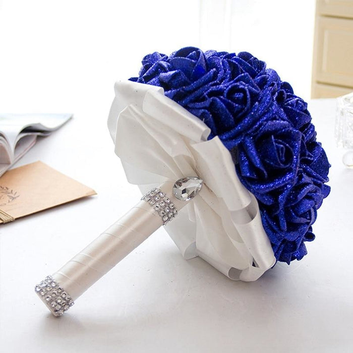 Rose Artificial Flower Wedding Bouquets | Bridelily - wedding flowers