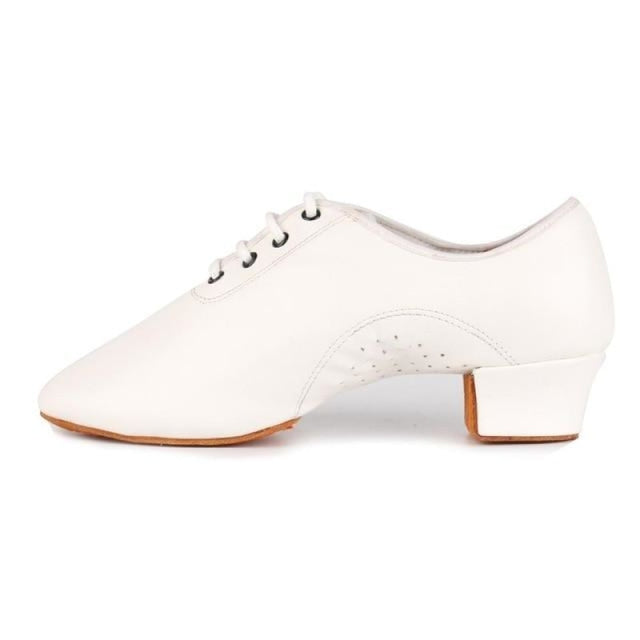 Rubber Professional Cotton Latin Dance Shoes | Bridelily - White / 12.5 - jazz dance shoes