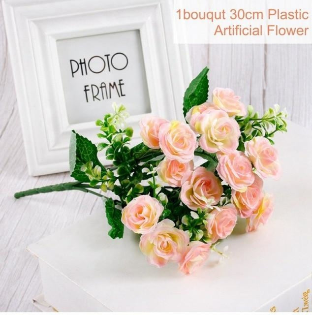 Rustic Flowers Wedding Decorations (10pcs) | Bridelily - Pink 1 - wedding decorations