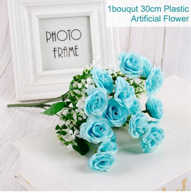 Rustic Flowers Wedding Decorations (10pcs) | Bridelily - Blue 1 - wedding decorations