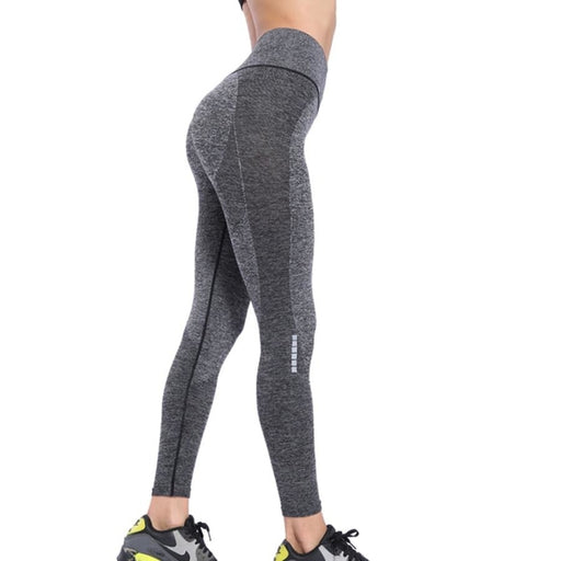 Seamless Gym Leggings Sport Women Fitness Leggings Push Up Yoga Pants Woman Slim Training Yoga Leggings - Purple / S/M - yoga leggings