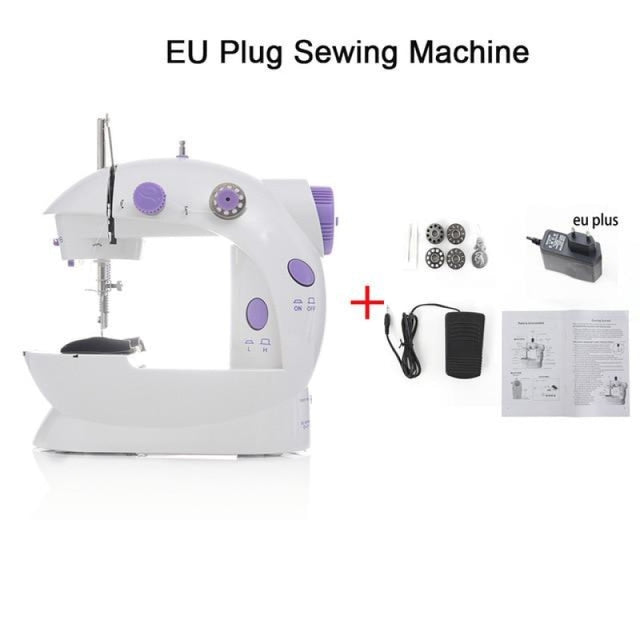 Simple Mini Sewing Machine - CHINA / EU PLUG - sewing machines