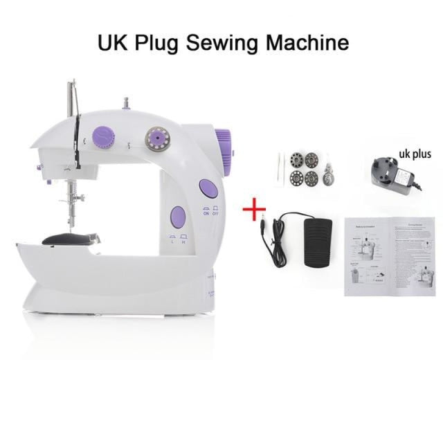 Simple Mini Sewing Machine - CHINA / UK PLUG - sewing machines