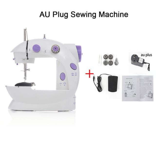 Simple Mini Sewing Machine - CHINA / AU PLUG - sewing machines