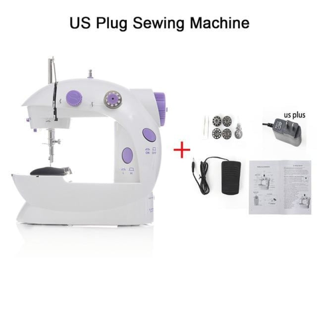 Simple Mini Sewing Machine - CHINA / US PLUG - sewing machines