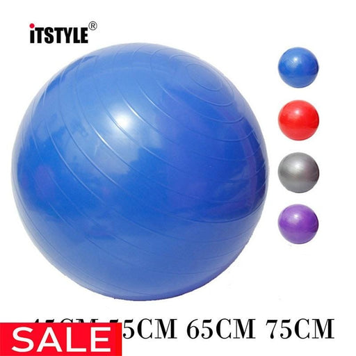 Sports Yoga Balls Bola Pilates Fitness Gym Balance Fitball Exercise Pilates Workout Massage Ball - yoga balls