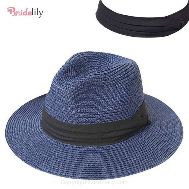 Straw Vacation Wide Brim Casual Beach/Sun Hats | Bridelily - Color 12 - beach/sun hats