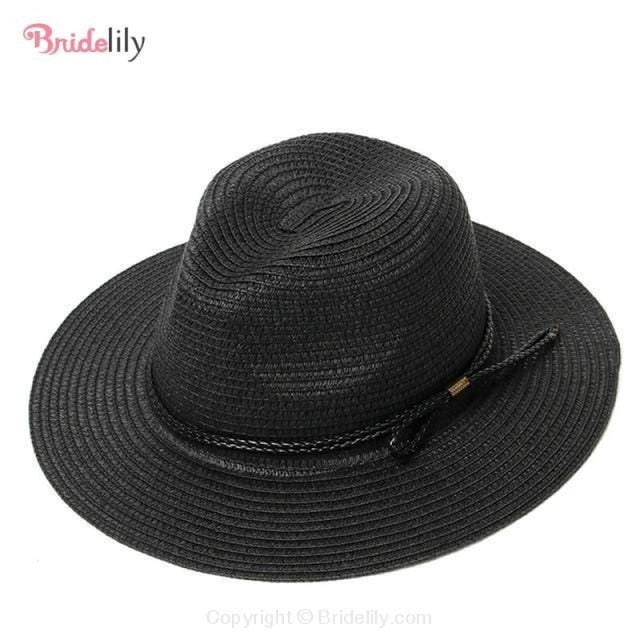Straw Vacation Wide Brim Casual Beach/Sun Hats | Bridelily - Color 17 - beach/sun hats