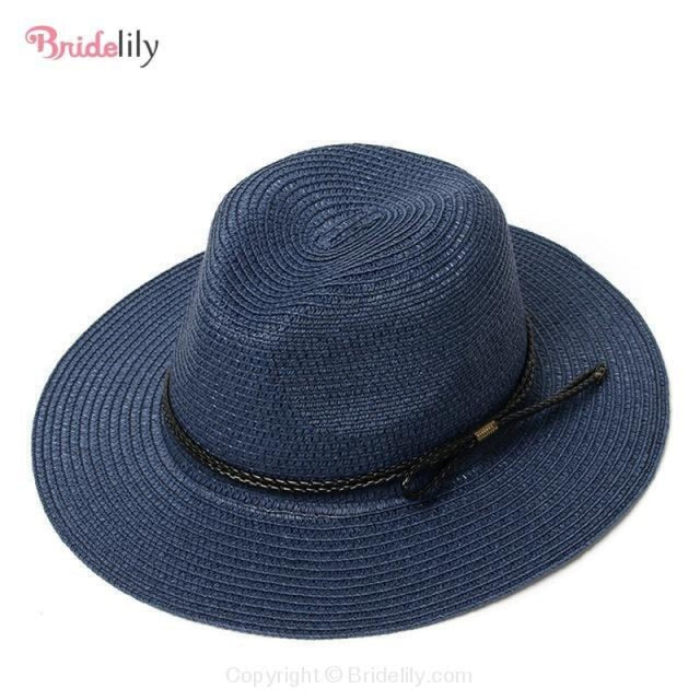 Straw Vacation Wide Brim Casual Beach/Sun Hats | Bridelily - Color 18 - beach/sun hats