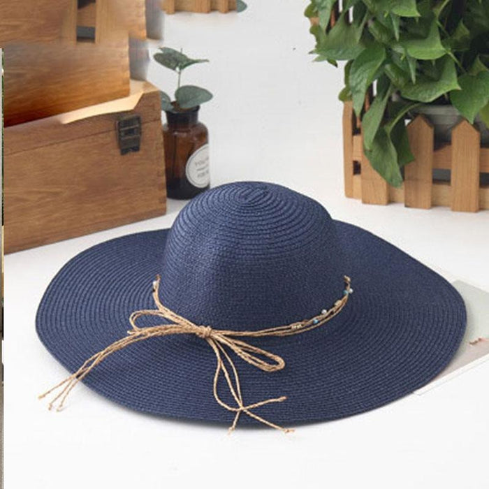 Sunhat Large Brimmed Sun Wide Packable Straw Hats | Bridelily - straw hats