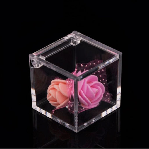 Transparent Cover Decoration Favor Holders | Bridelily - favor holders
