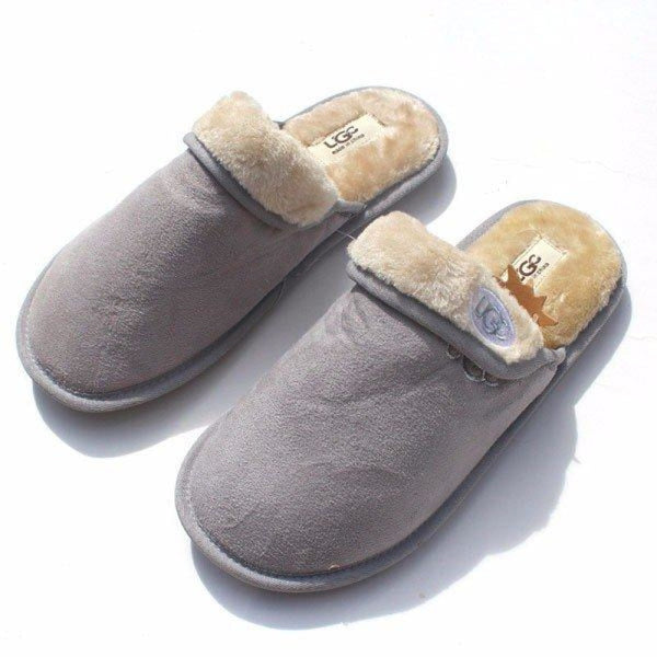 Unisex Folded Pure Color Slip On Indoor Flat Home Shoes - home shoes