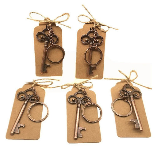 Vintage Bottle Opener Keychain Wedding Anniversary Gifts - wedding anniversary gifts
