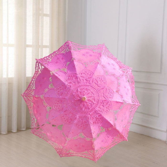 Vintage Style Embroidered Wedding Umbrellas | Bridelily - wedding umbrellas