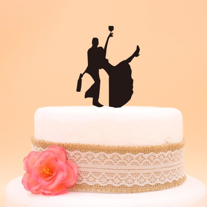 Wedding Cake Topper Funny Cake Toppers | Bridelily - cake toppers