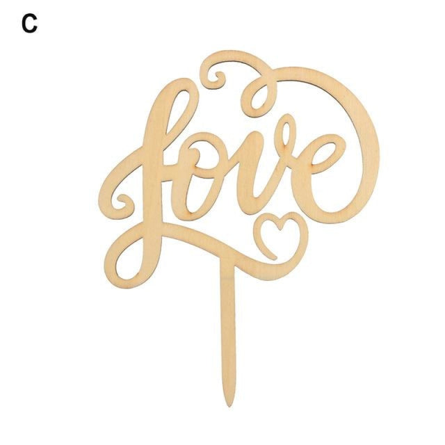 Wedding Cake Topper Laser Cut Cake Toppers | Bridelily - 13 - cake toppers