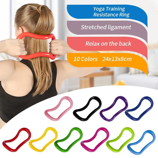 Yoga Circle Equipment Yoga Ring Pilates Workout Ring Fitness Circle Training Resistance Tool Home Training - yoga circle