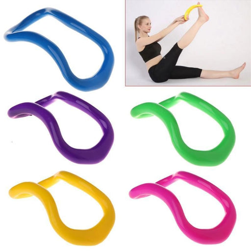 Yoga Circle Yoga Stretchdline Ring Home Women Fitness Equipment Workout Pilates Bodybuilding Exercise - yoga circle