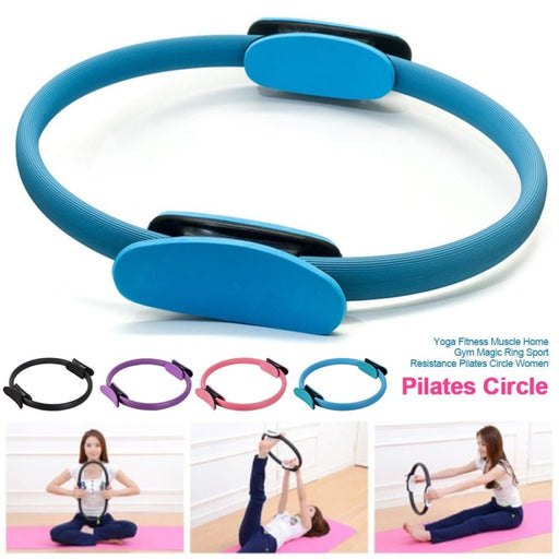 Yoga Fitness Pilates Circle Home Sport Resistance Workout Women Magic Ring Muscle Exercise Training Tools - yoga circle