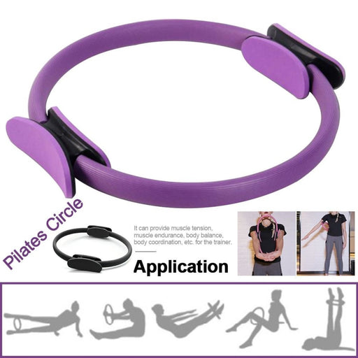 Yoga Fitness Women Workout Gym Home Professional Training Muscle Pilates Circle Accessories Exercise Resistance - yoga circle