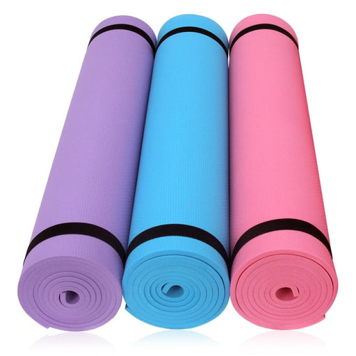 Yoga Mat 6MM Thick Non-slip Fitness Pad For Yoga Exercise Pilates - yoga mat