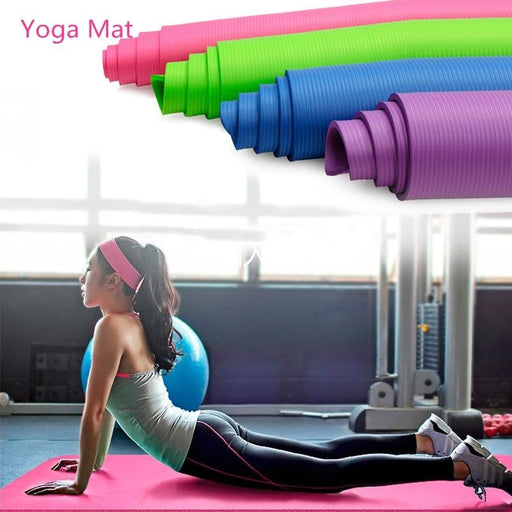 Yoga Mat Exercise Pad Thick Non Slip Folding Gym Fitness Mat Outdoor Indoor Training Gym Exercise Carpet - yoga mat