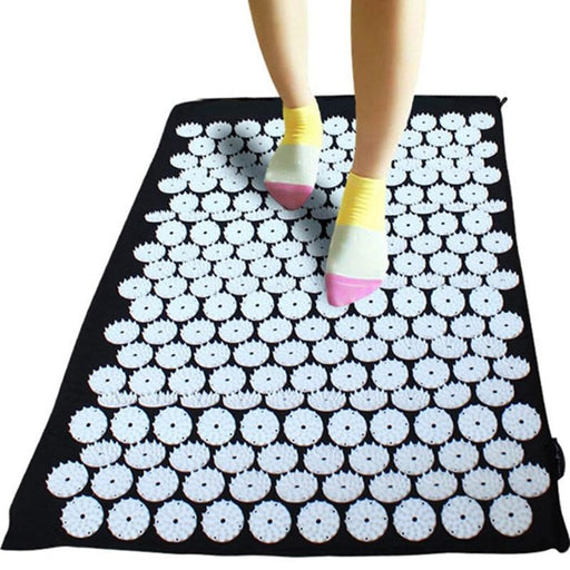 Yoga Mat Massage Yoga Pillow Cushion Acupressure Mat Relieve Stress Pain Acupuncture Spike Yoga Mat