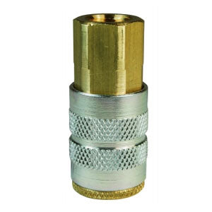 F-Series Pneumatic Manual Female Threaded Coupler