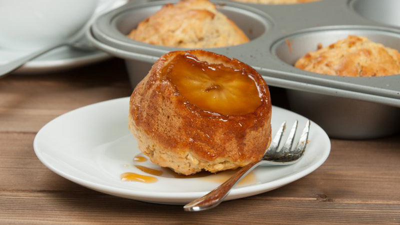 Apple cupcakes with Maple Syrup