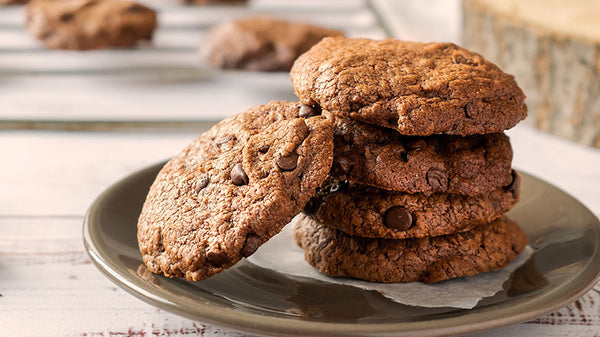 Super Fudgy Gluten Free Nutella Cookies