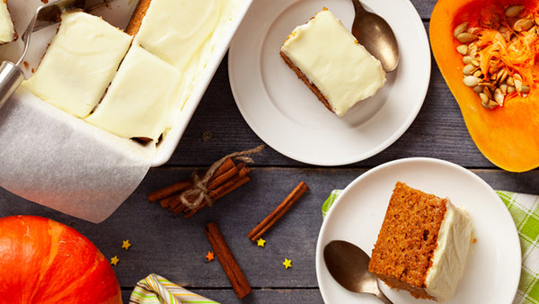 Gluten Free Holiday Pumpkin Bars