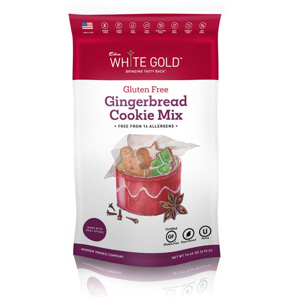 Gluten Free Gingerbread Cookie Mix