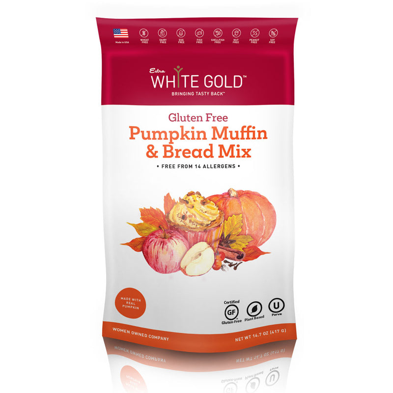 Gluten Free Pumpkin Muffin & Bread Mix