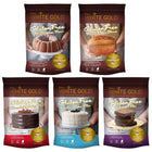 Sampler pack of baking mixes and flour blends (full size packages)